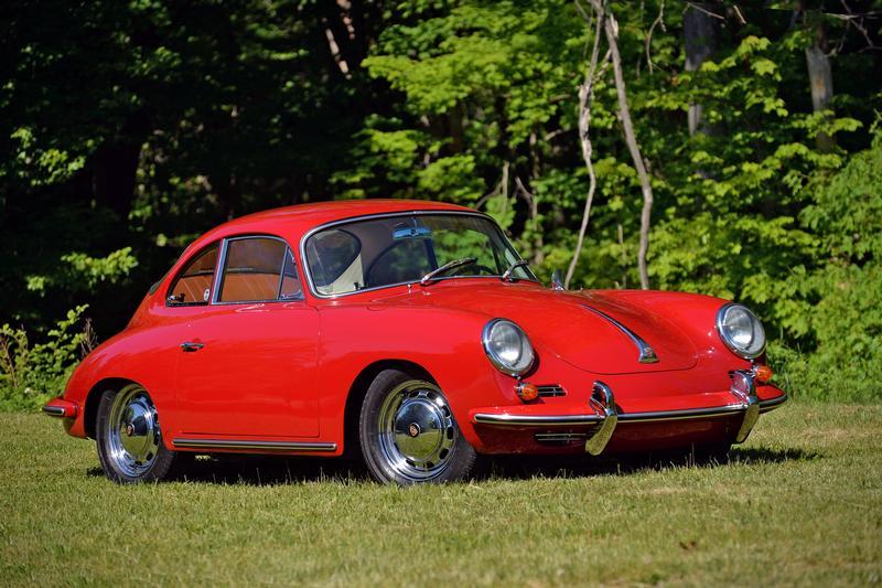 Porsche Club of America - The Mart - 1965 356