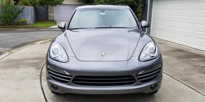 Porsche Club of America - The Mart - 2013 Cayenne