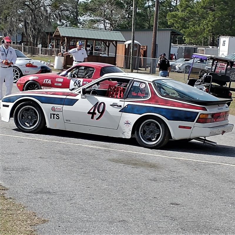 Porsche Club of America - The Mart - 1984 944