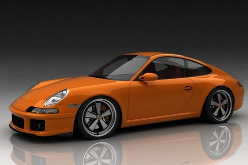 Porsche Club of America - The Mart - Body Kit 996/997 Backdate Retro Fiberglass body parts