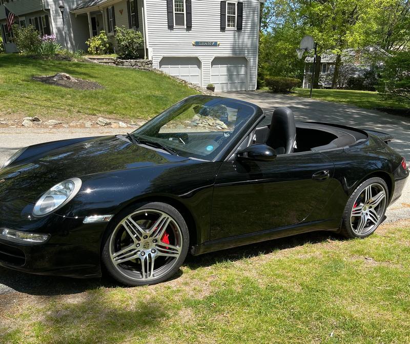 Porsche Club of America - The Mart - 2008 911 Carrera S Cabriolet