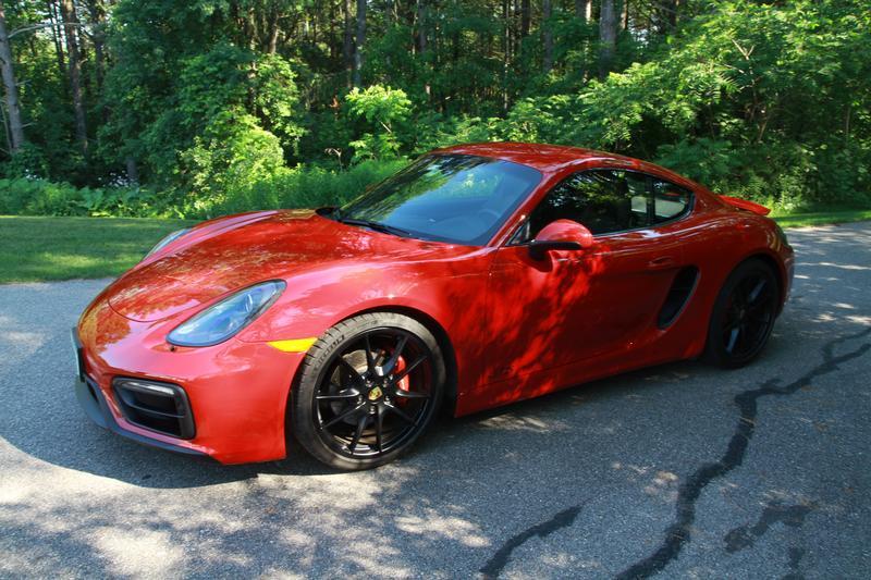 Porsche Club of America - The Mart - 2016 Cayman GTS