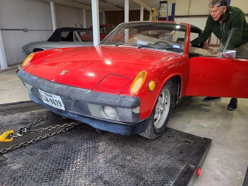Porsche Club of America - The Mart - 1971 914 1.7