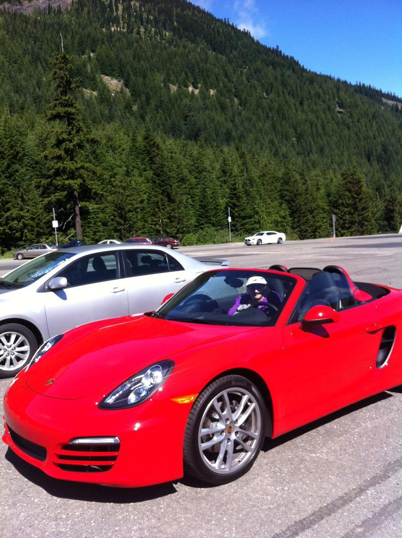 Porsche Club of America - The Mart - 2013 Boxster