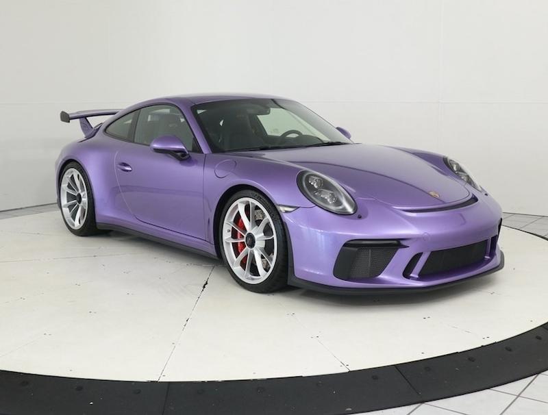 Porsche Club of America - The Mart - 2018 911 GT3