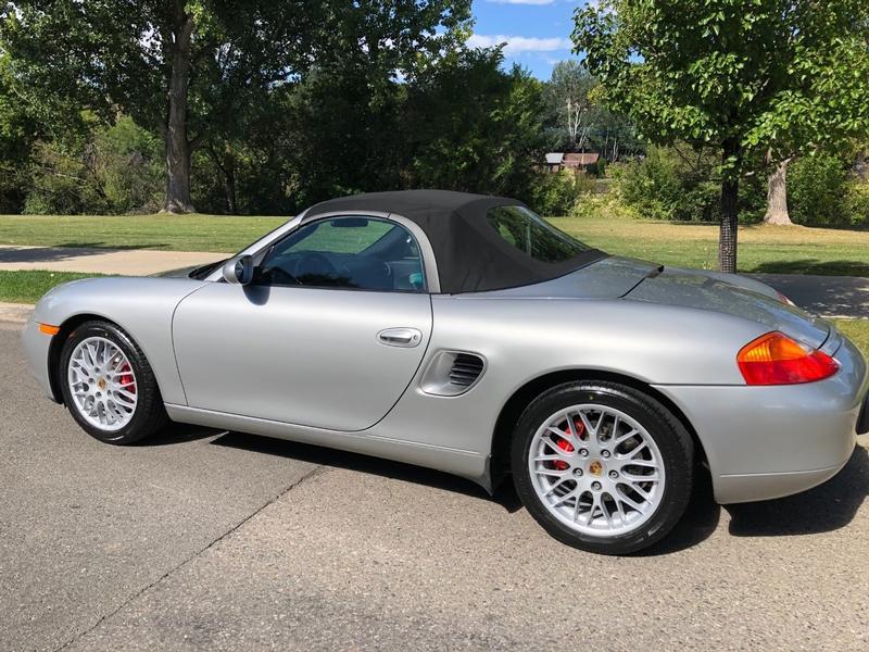 Porsche Club of America - The Mart - 2000 Boxster S